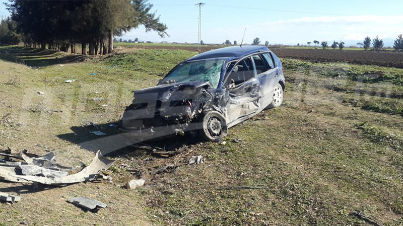 Décès d'une personne dans la chute d'un véhicule dans un ravin
