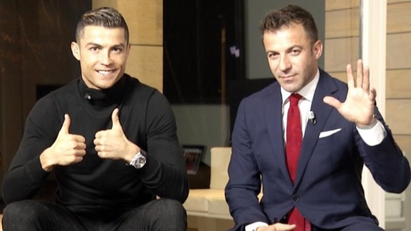 Del Piero glisse un petit tacle à Ronaldo (Vidéos)