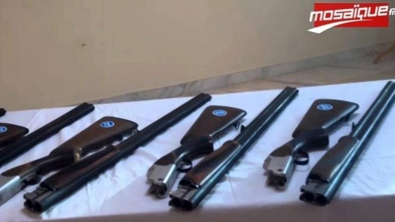 Démantèlement d'un réseau de trafic d'armes