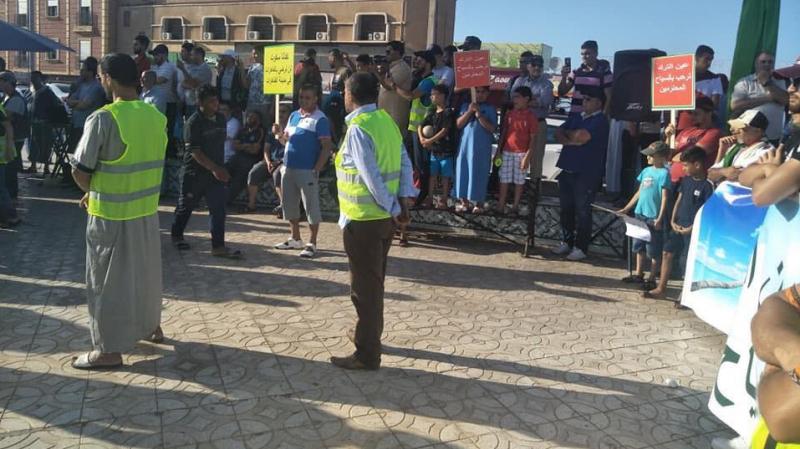 Des algériens protestent contre la propagation de la prostitution