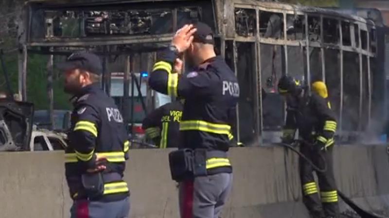 Des collégiens  miraculeusement sauvés d'une prise d'otage à Milan