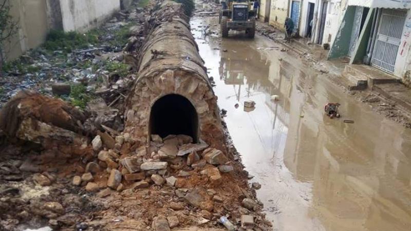 Des habitants de Mhamdia détruisent une partie des aqueducs romains