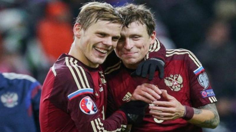 Deux footballeurs russes placés en détention