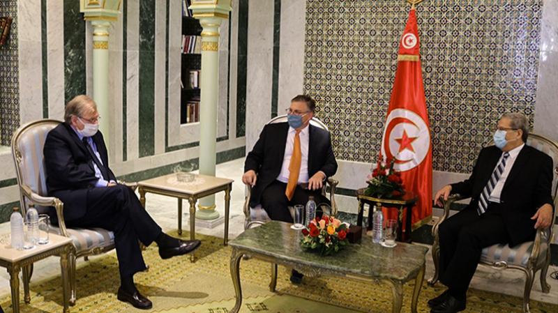 Dialogue inter-libyen: Une rencontre Jerandi et les ambassadeurs US