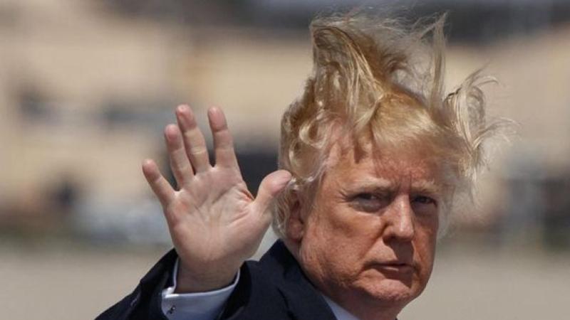Donald Trump déclare 70000dollars de coiffeur au fisc