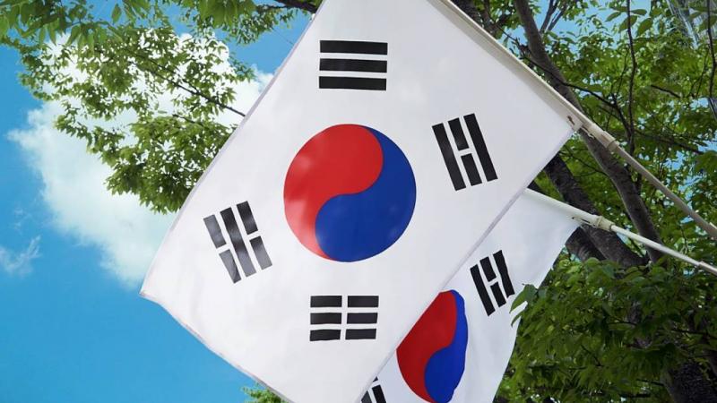 drapeau Corée