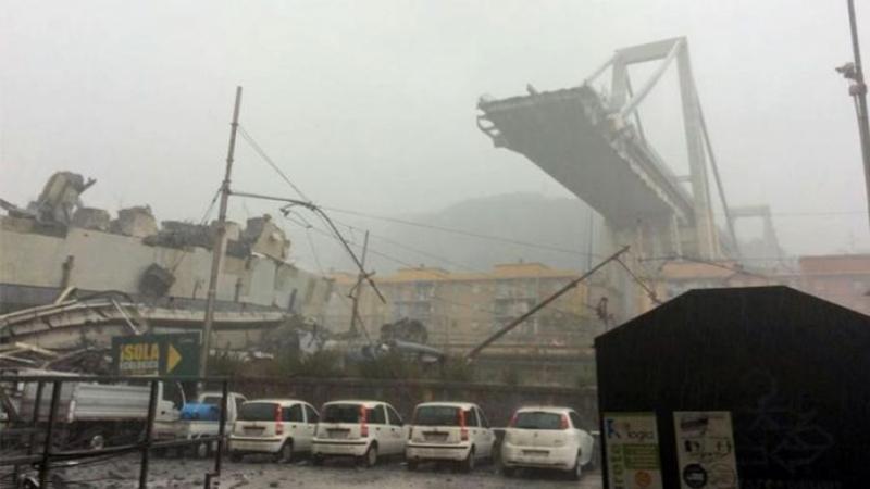 Effondrement du pont à Gênes : Pas de Tunisiens parmi les victimes