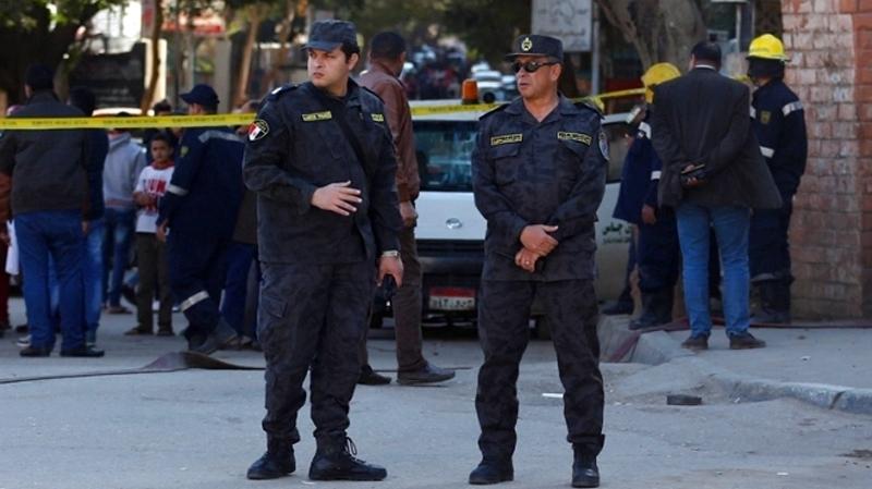 égypte-police