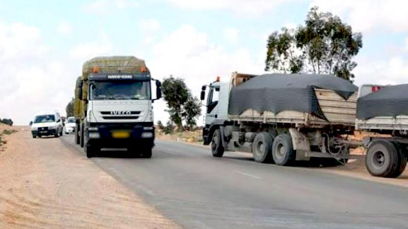 El Guettar:Les camions de transport du phosphate interdits de passage