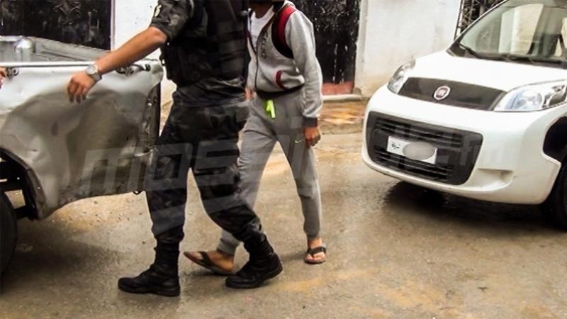 'El Mzanzene' en état d'arrestation