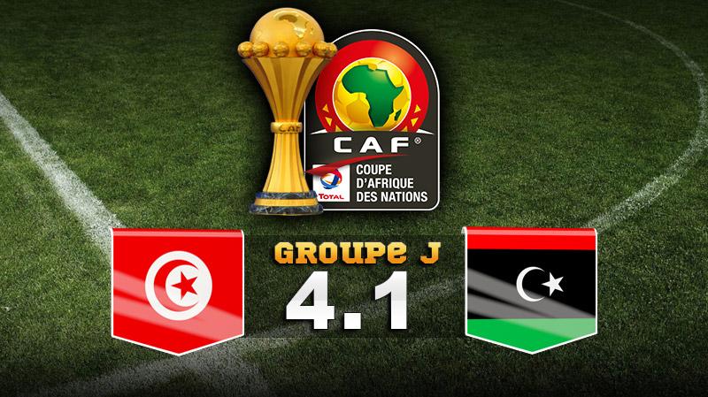 Éliminatoires CAN 2021: La  Tunisie bat Libye 4 à 1