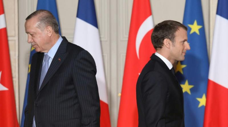 Erdogan espère voir la France 'se débarrasser' de Macron