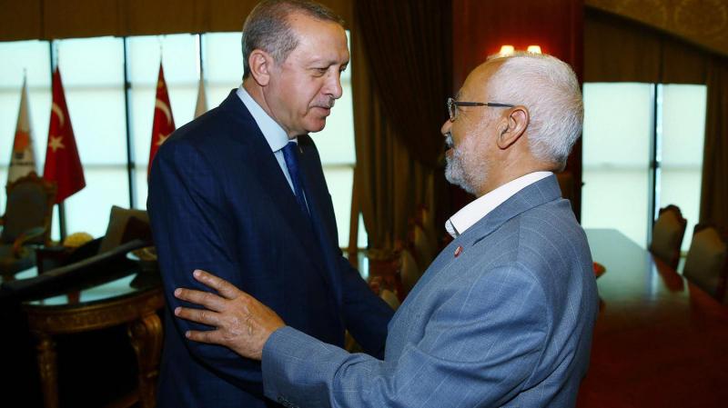 Erdogan et ghannouchi