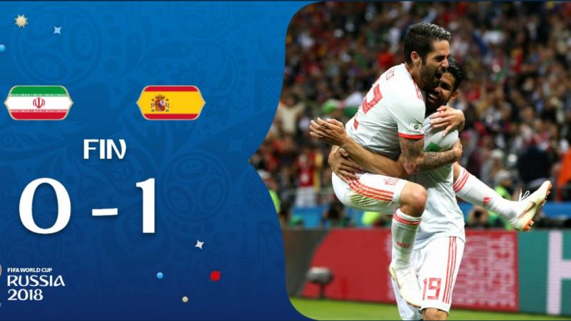 Espagne-Iran