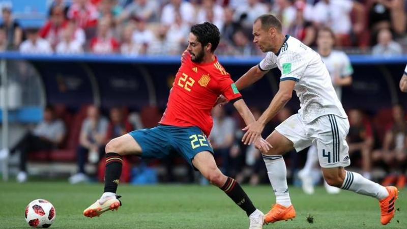 Espagne, Russie