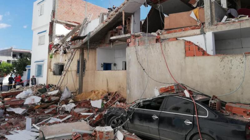 Explosion à Cité Ezzouhour: Les causes  et les dégâts