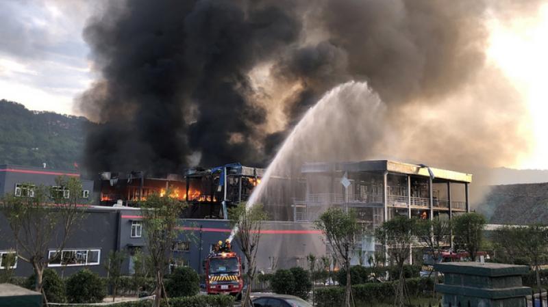 Explosion chimique en Chine:  47 morts au moins