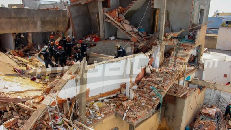 explosion cité Ezzouhour