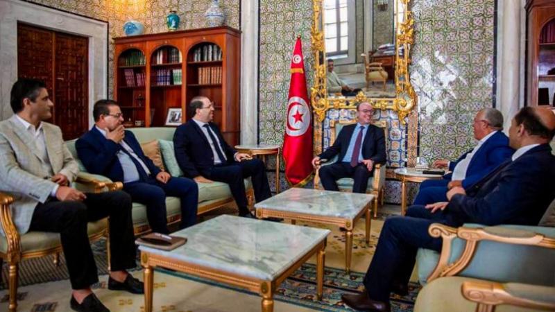 Fakhfakh reçoit les présidents des partis et groupes parlementaires