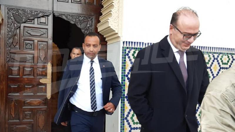Fakhfekh reçoit Othman Jarandi et Adel Fekih