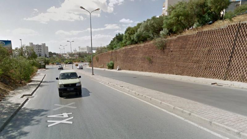 Fermeture de la route menant de Menzeh 9 et Manar vers Tunis