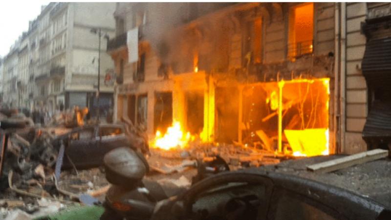 Forte explosion à Paris