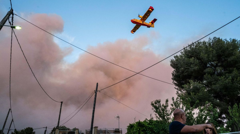France : Violent incendie près de Marseille