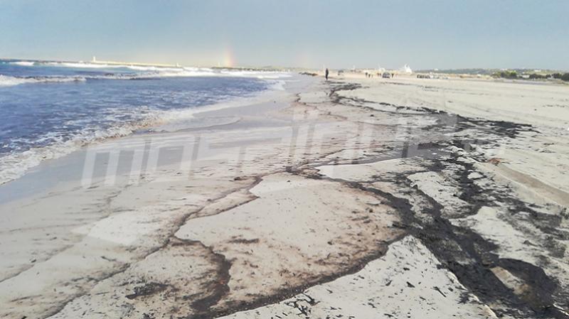 fuite de pétrole