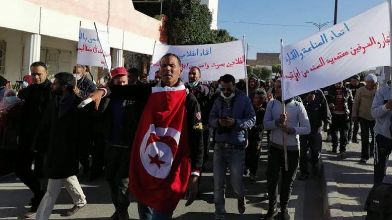 Gafsa: Grève générale dans la délégation de Sened