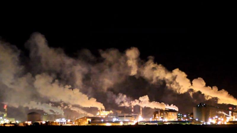 gaz complexe chimique