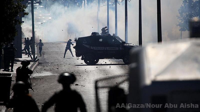 gaza-affrontement