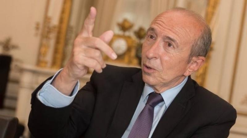Le ministre de l 39 int rieur fran ais en tunisie le 24 juillet for Interieur ministre