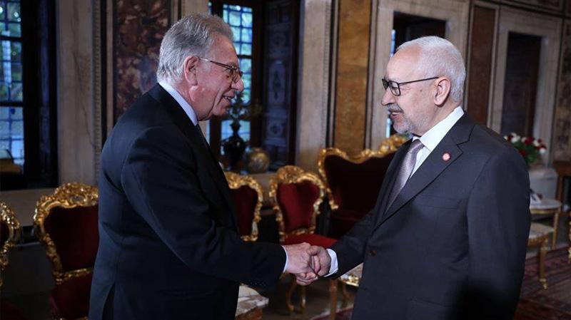 Ghannouchi reçoit une délégation de la Commission de Venise