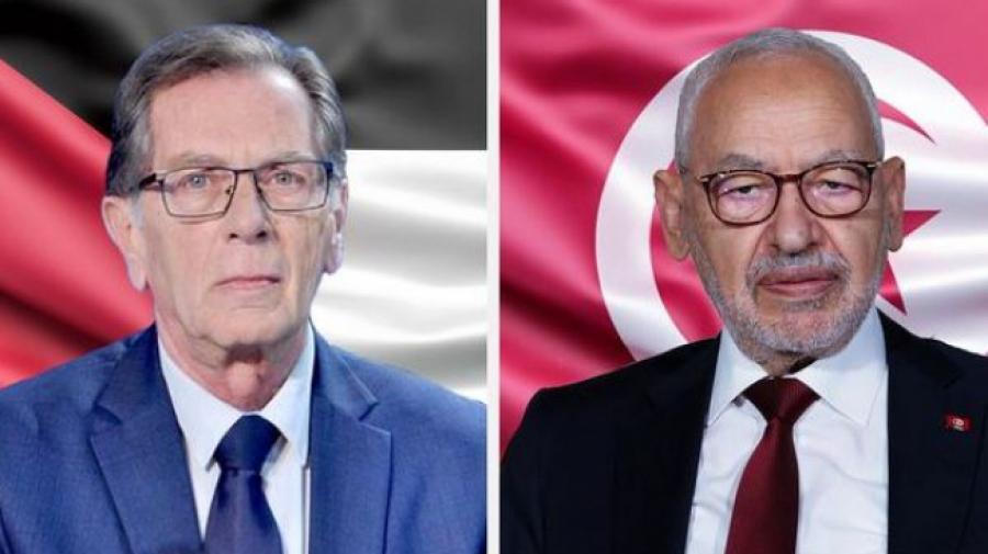 Ghannouchi réitère le soutien de la Tunisie à la cause palestinienne