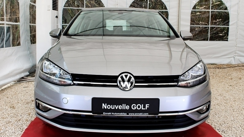 la nouvelle golf facelift de volkswagen style confort et fiabilit. Black Bedroom Furniture Sets. Home Design Ideas