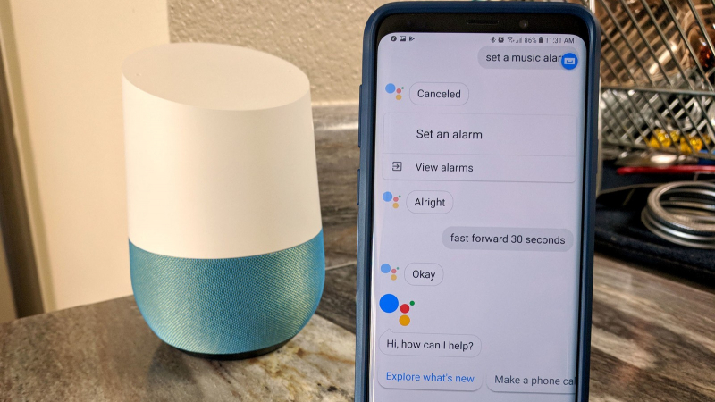 Google Assistant  bientôt concurrent des  radios