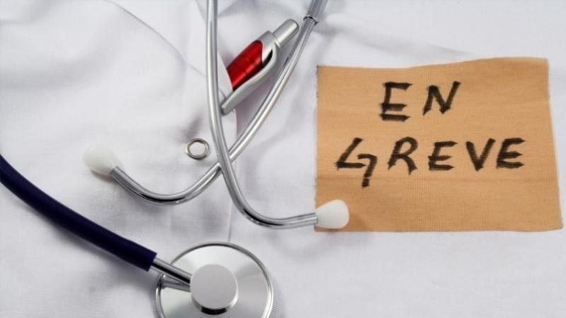 grève médecin