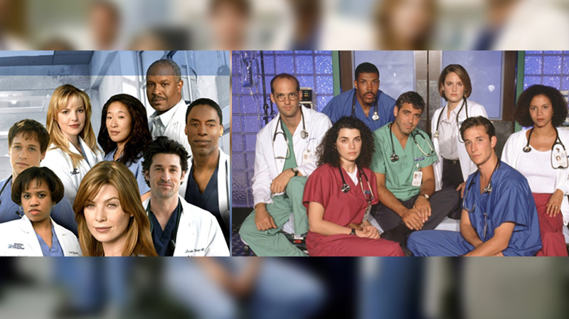 Grey's Anatomy détrône Urgences