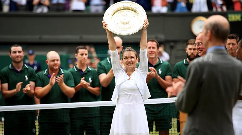 Halep remporte son premier Wimbledon