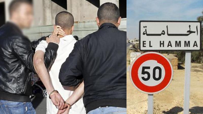 hamma-arrestation
