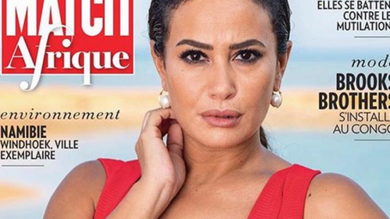 Hend Sabri fait la couverture du magazine Paris Match Afrique