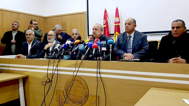 Hfaiedh:Après la grève générale nous examinerons les formes d'escalade