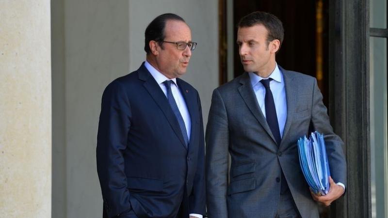 Hollande, Macron