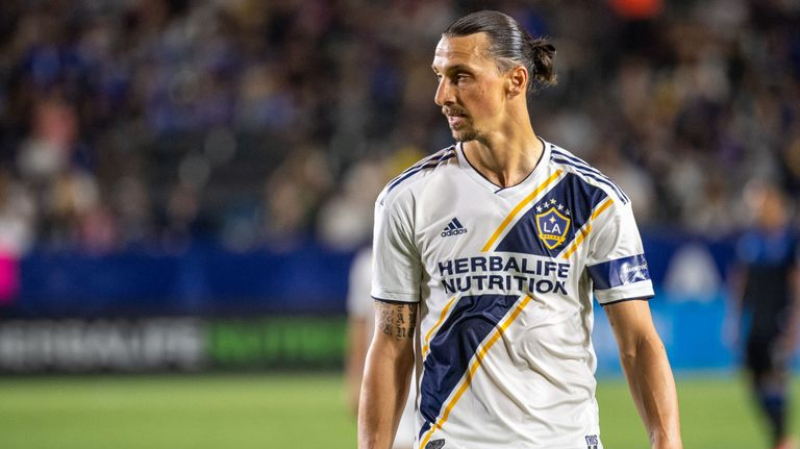 Ibrahimovic annonce qu'il quitte le Los Angeles Galaxy