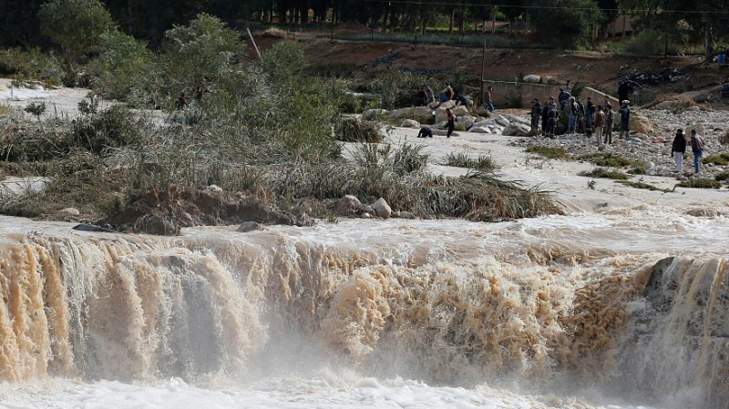 inondations-Jordanie