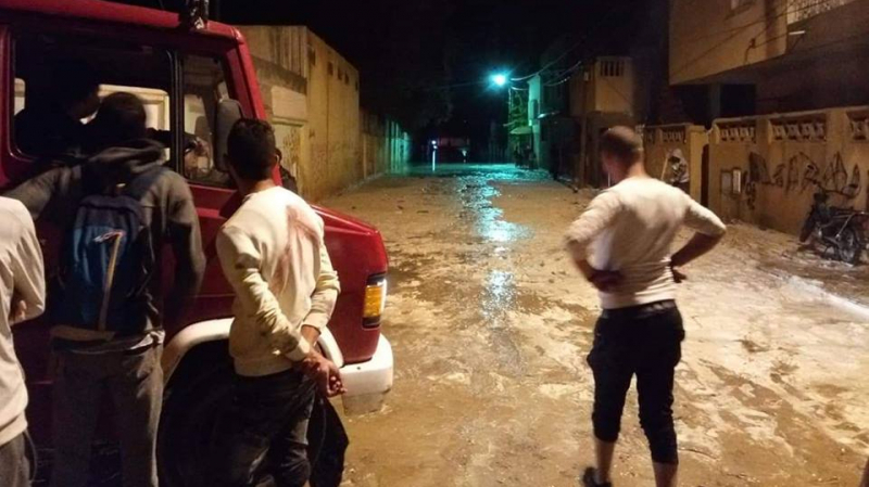 inondations Redeyef