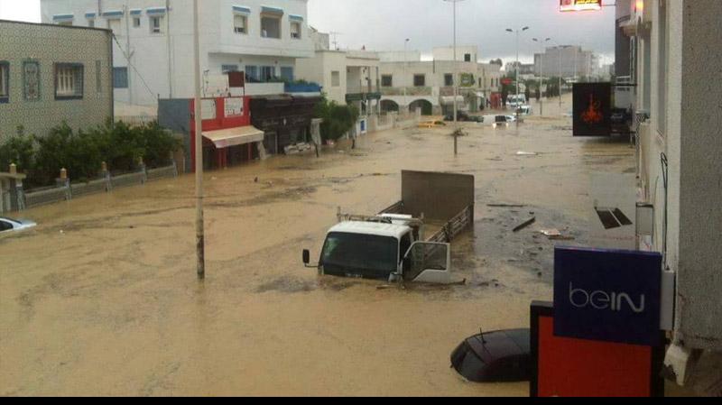 Inondations: Situation critique à Nabeul