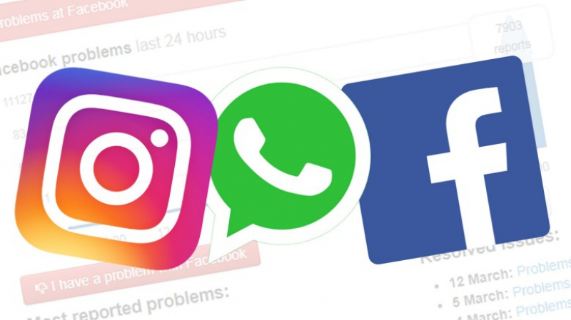 Instagram, Facebook et WhatsApp en panne?