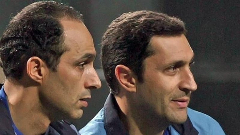 Jamel et Alaa Moubarak