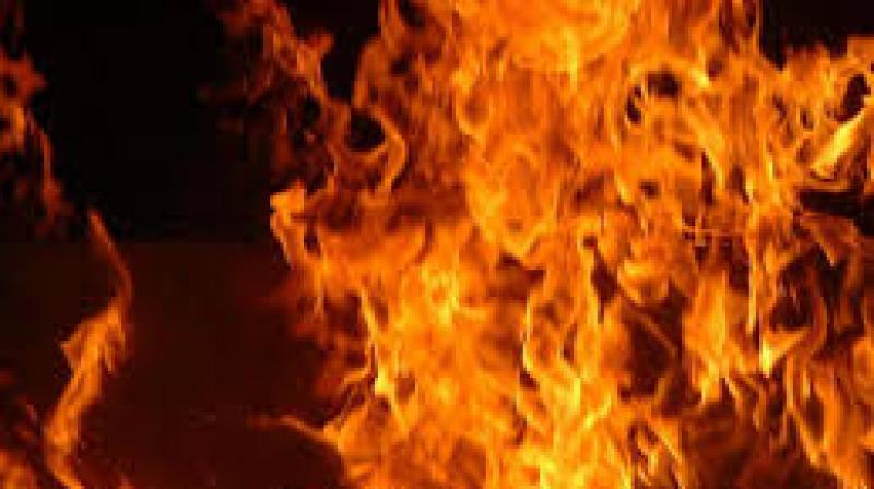 Jebel Ouest: Un incendie ravage une grande menuiserie